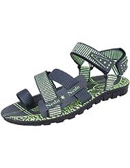 Bersache Men's Grey-906 Sandal & Floaters