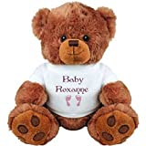 Baby Girl Bear for Roxanne: Medium Plush Teddy Bear