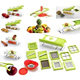 Accura All In One Nice Dicer/Slicer & Grater With Unbreakable Poly Carbonate Container, Made In India (ABS Quality)