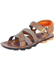 Bersache Men's Grey-908 Sandal & Floaters