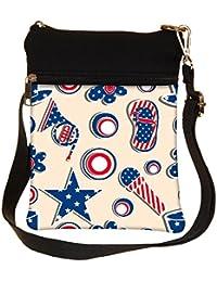 Snoogg Us Stars Cross Body Tote Bag / Shoulder Sling Carry Bag
