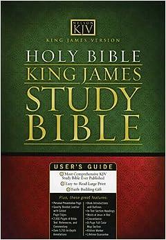 King James Study Bible: Thomas Nelson: 9780785201694