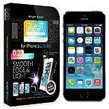 【国内正規品】Spigen iPhone5/5S/5C シュタインハイル GLAS.t R ナノ スリム リアル スクリーン プロテクター(背面保護フィルム同梱)【SGP10512】