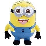KAYKON Despicable Me Minion Plush Stuffed Plush Toy Premium Quality Fabric Minion Cartoon Character Cushion For Kids - 15 Inch/38 Cm Tall (Medium)