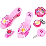 Beautiful Susy Pretend Play Toy Fashion Beauty Play Set W/ Assorted Hair & Beauty Accessories