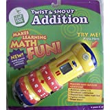 """Leap Frog Twist & Shout Electronic """"Addition"""" Hand Held Math Aid Teaches & Quizzes W Musical Beat Makes Math Fun..."""