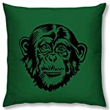 Right Digital Printed Clip Art Collection Cushion Cover RIC0035a-Dark Green
