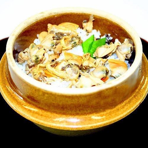 あさり釜めしの素 老舗山梨かいやのアサリ釜飯の素 3合炊き
