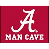 FANMATS 14525 University Of Alabama Nylon Universal Man Cave All-Star Mat