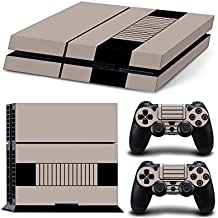 Gam3Gear Vinyl Sticker Pattern Decals Skin For PS4 Console & Controller- Retro Console V2