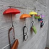 Decorative Umbrella Drop Style Clothes Key Hat Robe Hall Wall Hook For Bathroom Kitchen Door Shelves Hanger Hooks