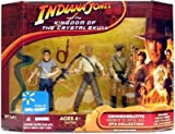 Indiana Jones and the Kingdom of the Crystal Skull Commemorative DVD Collection Action Fig...