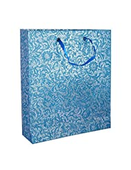 R S Jewels Handmade Paper Embossed Recycled Gift Bags Printed Pack Of 5 Pcs