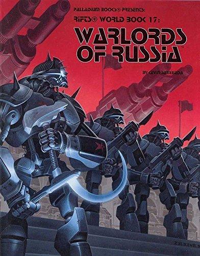 (USA Warehouse) Rifts RPG: World Book 17 Warlords of Russia PAL 0832 **ITEM#NO: 43E8E-UFE6 C2A19301