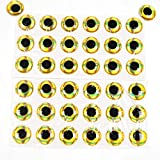 Generic Red 16mm : (50pcs )3D Fishing Lure Eyes Fly Eyes Choose Size:4MM-20MM And Making Fly Tying Red Gold Silver...