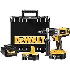 DeWALT DCD940KX 18V 1/2 Cordless XRP Drill/Driver Kit