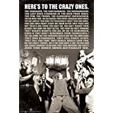 BCreative Here's To The Crazy Ones Poster