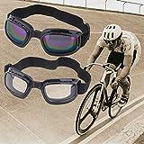 Banggood Unisex Safety Goggles Foldable Anti Glare Polarized Windproof Anti Fog Sun Protective Adjustable Strap...