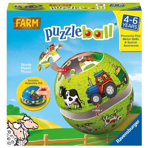 Ravensburger Farm 24-Piece Puzzleball JungleDealsBlog.com
