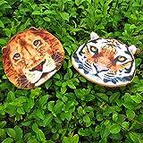 Gossipgirl 3D Lion zipper coin purse 3D Lion purse-Lion