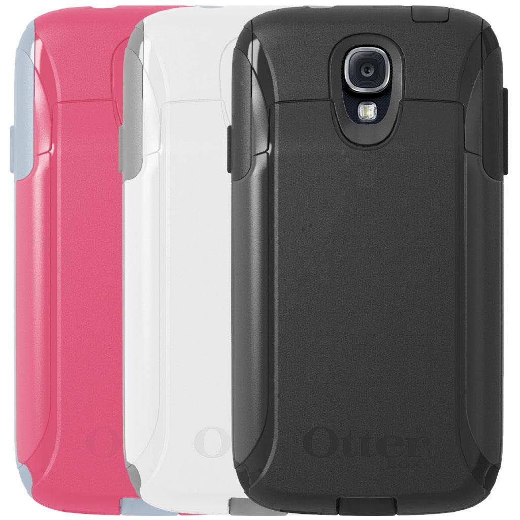 huge selection of c1ff9 56aab Details about Genuine OtterBox Commuter Wallet Series Case Samsung Galaxy  S4 BLACK GRAY