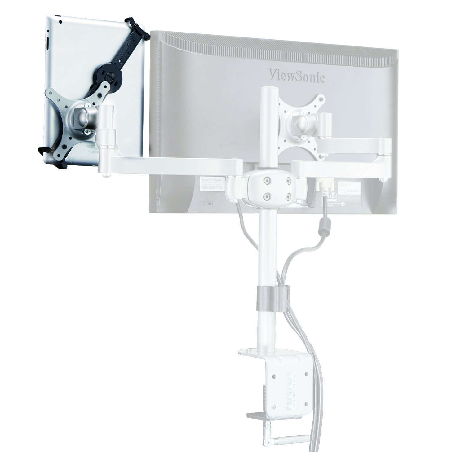 VESA Bracket with Short Axis for MDM04 MDM05 MDM06 Multi Monitor Arm Bracket