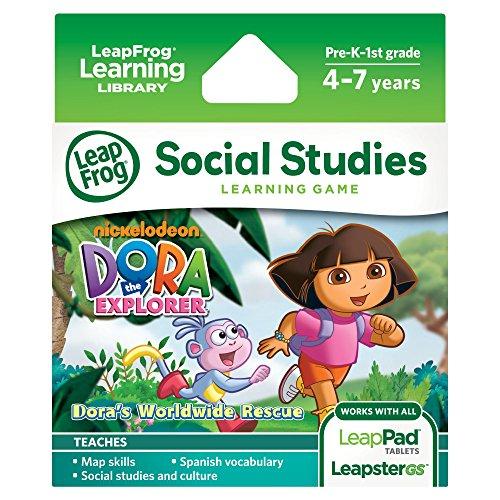 dora explorer learning game works