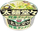 日清 太麺堂々 野菜タンメン 88g×12個