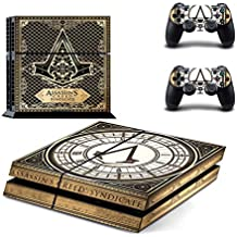 PS4 Skins - Sony PS4 Play Station 4 High Definition Skin - 2016 -Stickers-Decals - Assassins Creed Synd. PS4 Skin