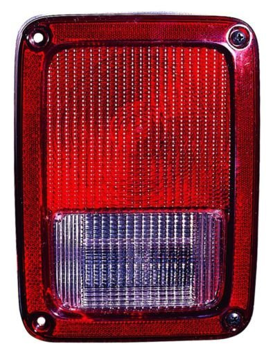 Jeep Wrangler Replacement Tail Light Assembly – Passenger Side