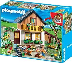 Amazon.de:PLAYMOBIL 5120 - Bauernhaus mit Hofladen