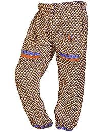 Women Casual Wide Leg Long Pants Bohemian Yoga Dance Palazzo Trousers - B072KVZ2P3