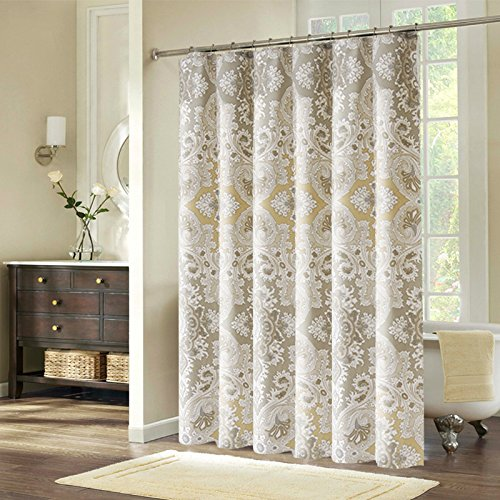 Welwo Paisley Stall Shower Curtain Set, 48 x 72Inches Home Garden Bathroom Accessories Curtains