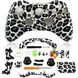 Super Custom Replacement Wireless Game Controller Shell Case Cover Kit For Xbox 360 - Includes Button Set, Torx... - B00ZW27J00
