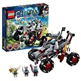 """Lego Year 2013 """"Legends Of Chima"""" Series 7 Inch Tall Vehicle Set #70004 Wakz Pack Tracker With Clawed Wheels,..."""