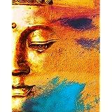 Tallenge - Meditating Gautam Buddha - A3 Size Rolled Poster