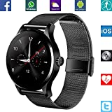 Banaus B2 IP68 Waterproof Sport SmartWatch Heart Rate Monitor Bluetooth 4.0 Nano-SIM For Samsung S4 S5 S6 S7 Note3... - B01KTG7VZ6