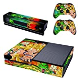 Vanknight Vinyl Decal Skin Sticker Cover Dragon Ball Z Son Goku for Xbox One Console Kinect 2 Controllers