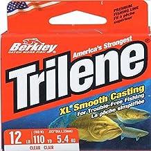 Berkley Trilene XL 110-yard Fishing Line, Clear, 12 LB