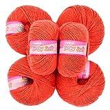 Vardhman Acrylic Knitting Wool, Pack Of 6 (Pack Of 14)