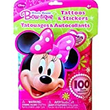 Minnie Mouse Stickers And Temporary Tattoos Set