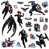 RoomMates RMK2628SCS Captain America Peel And Stick Wall Decal