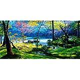 Vitalwalls Landscape Painting (Scenery-618-45, Canvas Print, 45 Cm X 22.2 Cm)