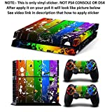 Al Pacino Rainbow Theme Cover Sticker For Playstation 4 & Controllers