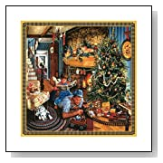 Sunsout Fathers Christmas Train 500 Piece Jigsaw Puzzle