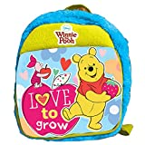 Pooh And Friends Plush Bag, Multi Color (12-inch)