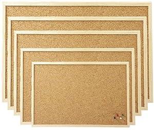 80x120 cm Pinnboard mit einem Holzrahmen, Korktafel