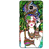 PrintVisa Designer Back Case Cover For Samsung Galaxy On Max (Beautifully Dressed Girl In Water)
