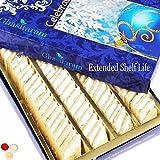 Bhaidooj Ghasitaram Gifts Sugarfree Sweets-Ghasitarams Pure Kaju Katlis Box 200 Gms