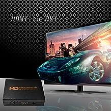 Alcoa Prime Professional NK-X3 HDMI To DVI Converter High Quality Video Converter Audio Splitter Black Convert...